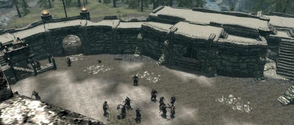 La battaglia per Forte Amol.
