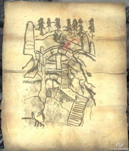 le mappe del tesoro di skyrim guida a skyrim