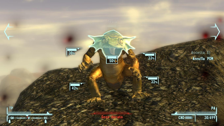 Lo SPAV in azione contro un mostriciattolo del deserto.