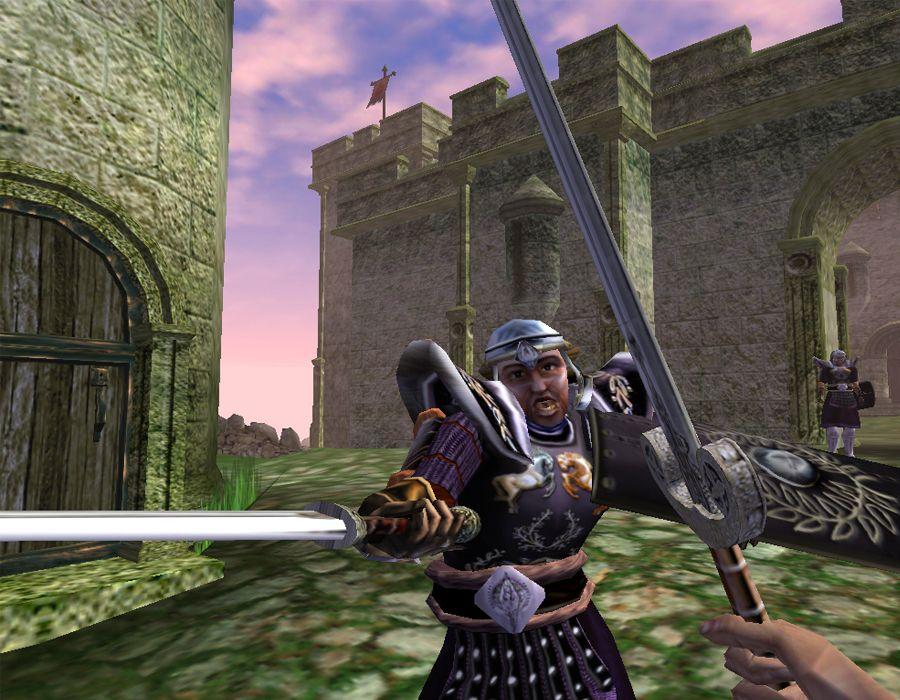 Morrowind combattimento