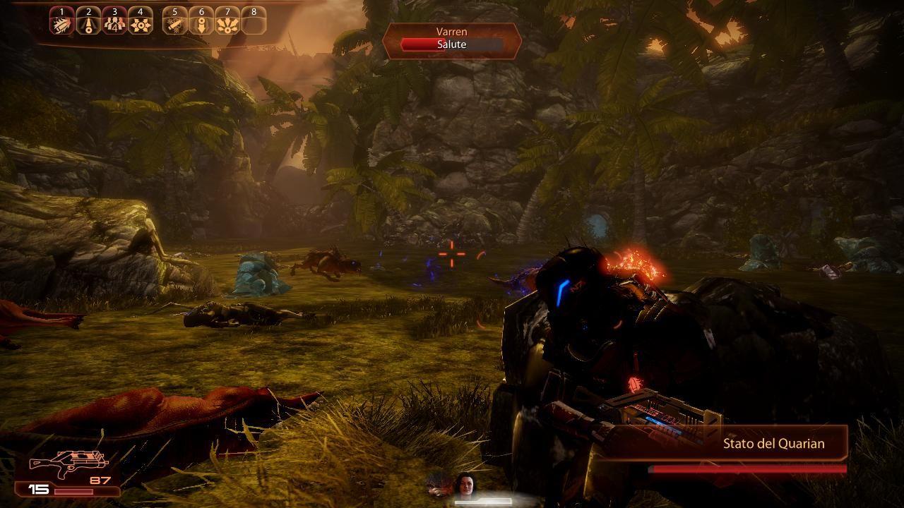I combattimenti fanno uso del sistema di coperture.