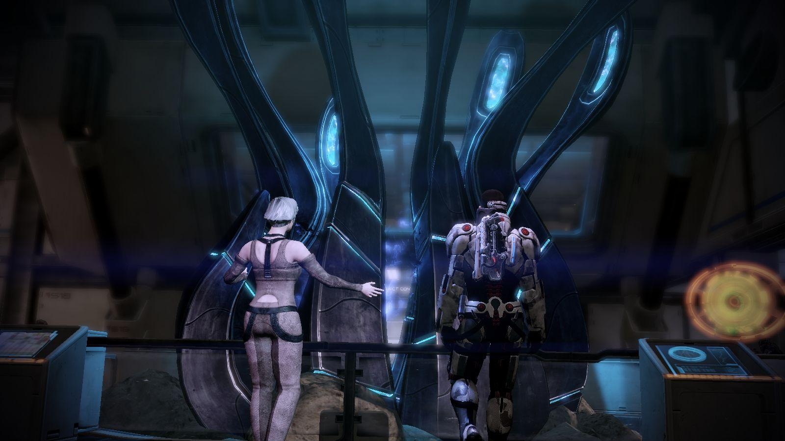 L'artefatto dei Razziatori che sembra preannunciare l'invasione.