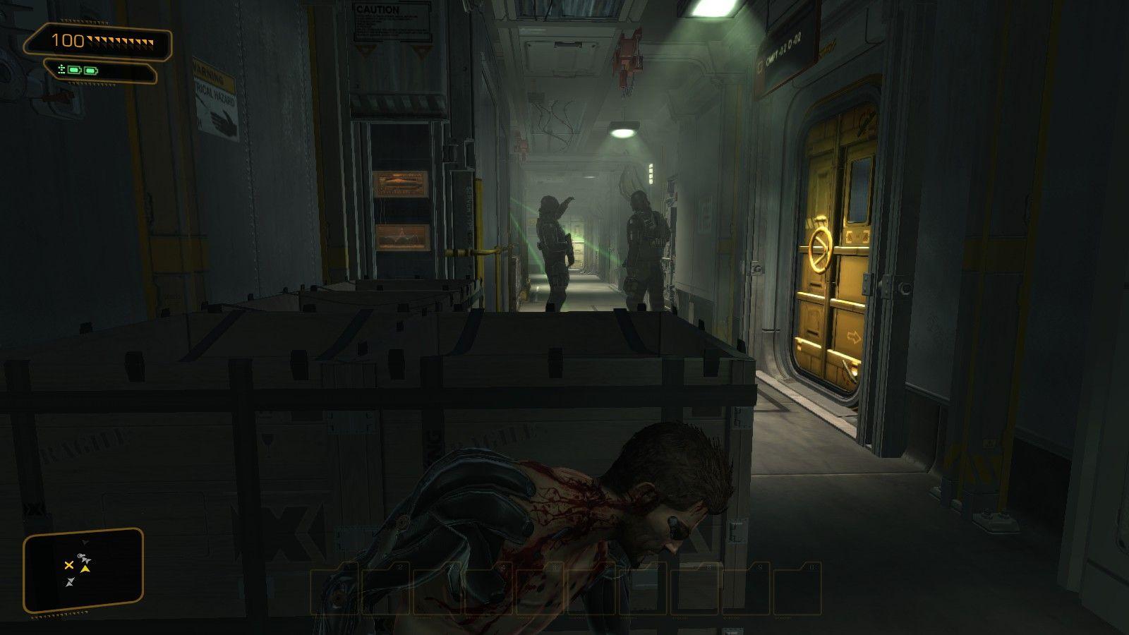 La prima parte del gioco andrà affrontata furtivamente.