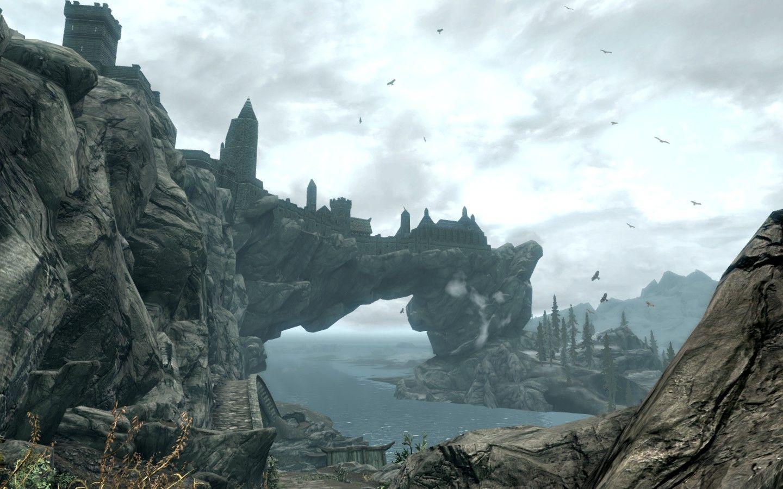 La città di Solitude, capitale della fazione imperiale.