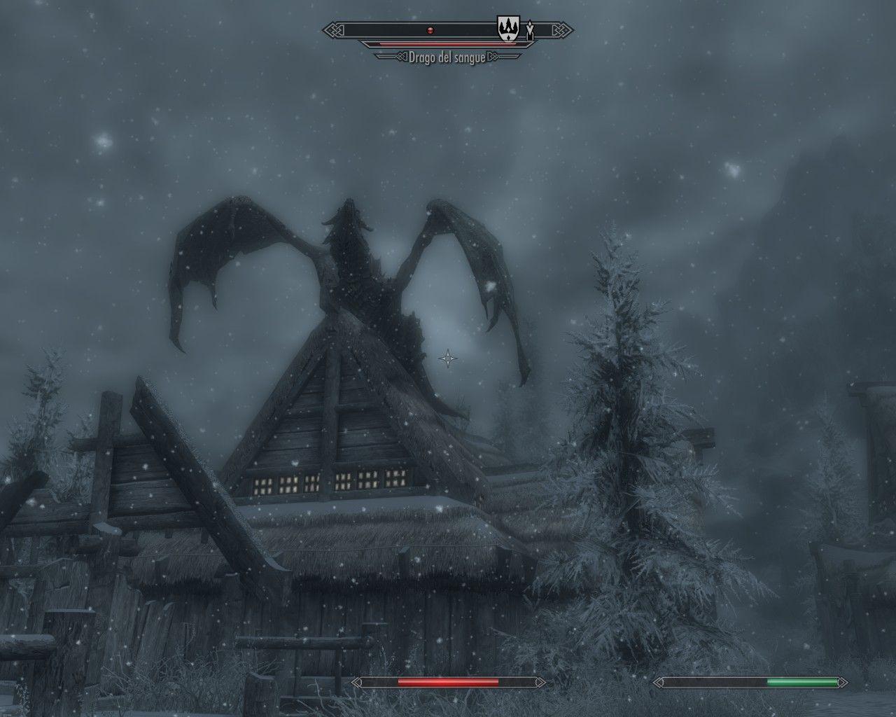 Eh sì, quello è proprio un drago.
