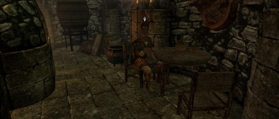 Malborn, il contatto che incontrete nella locanda dello Skeever Ammiccante a Solitude.