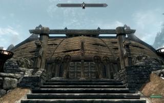 Jorravkr, la sede dei compagni a Whiterun.