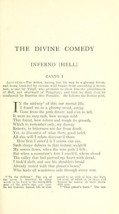 divina commediainglese