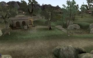 """La Piantagione di Direr Arano a Ovest di Suran in """"TES III: Morrowind"""""""