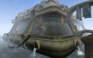 "Il Cantone Hlaalu a Vivec in ""TES III: Morrowind"""