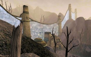 "La Ghostfence in ""TES III: Morrowind"""