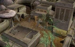 "Il Rethan Manor in costruzione  in ""TES III: Morrowind"""