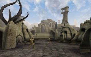 """Il Tempio di Maar Gan in """"TES III: Morrowind"""""""