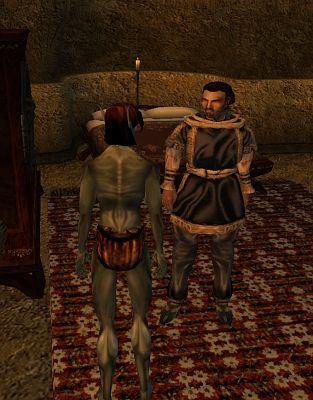 """Cassius Curio sprofonda l'Eroe in una situazione imbarazzante in """"TES III: Morrowind"""""""