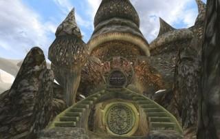 "L'ingresso a Sadrith Mora in ""TES III: Morrowind"""