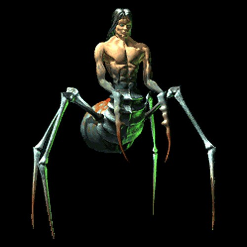 "Uno Spider Daedra in ""An Elder Scrolls Legend: Battlespire"""